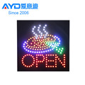 Hot Selling Acrylic LED Display, LED Letter Open Sign