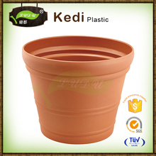 Save 10% free sample premium Hot sell colorful self watering PP plastic auto flower pot