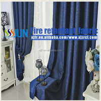 Flax Flame Retardant Blackout Curtain