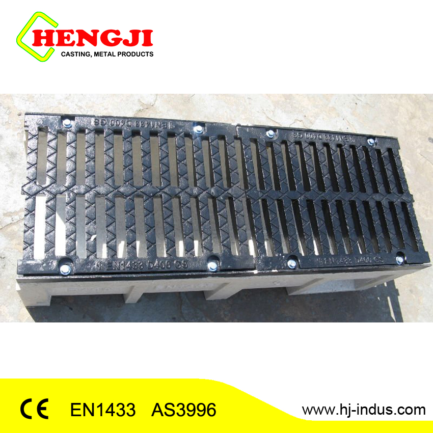 Corrosion Preventive Resin Concrete Drain Trough Perforated Channel Concrete Water Channel