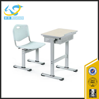foshan combo primary student desk and chair / school furniture