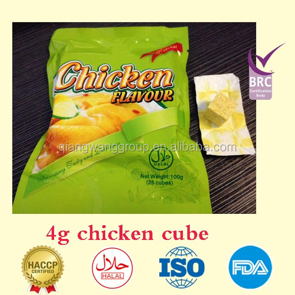 4g tablet food flavoring seasoning beef/vegetable/goat/chicken/fish/tomato/shrimp falvor seasoning cube