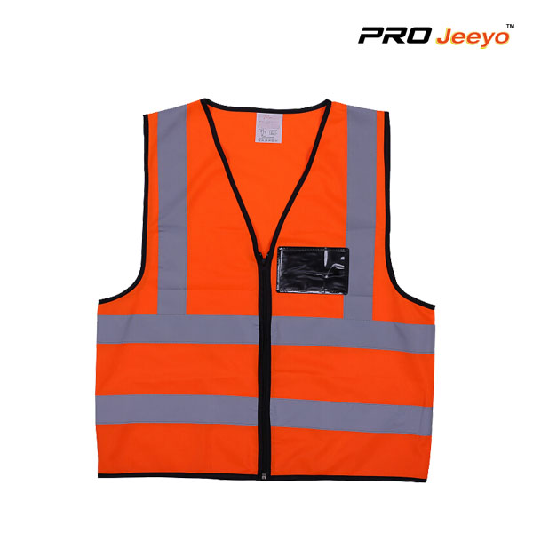 Reflective Hi Vis Safety Kids Running Vest with Pockets