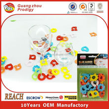 Markers wine glass plate clips drinking glass clips