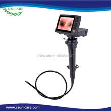 2.2 mm electronic working channel video flexible durable two way articulating endoscope