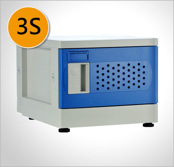 ABS Mini Plastic Locker- 3S Size
