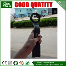 Carbon steel offset hammer ring spanner,coated forged offset hammer ring spanner