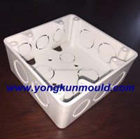 Plastic junction box electrical pvc plastic molding