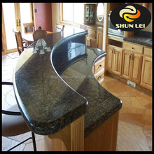 chinese sell polished new black granite benchtops