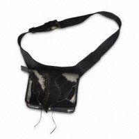 Waist Bag, Made of Genuine Cow Leather, Customized Orders are Accepted
