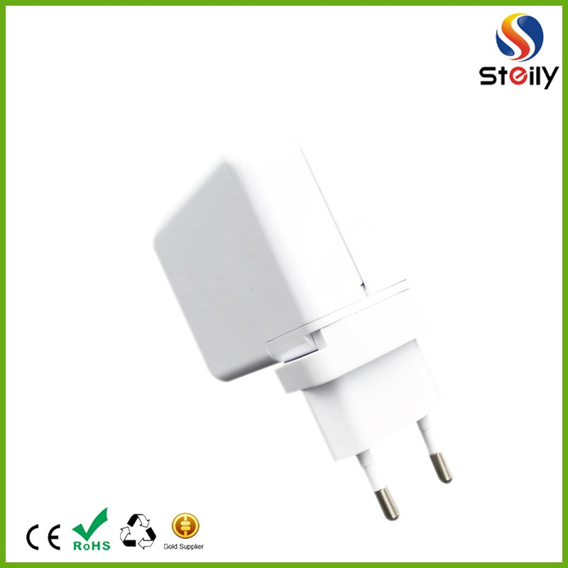 2016 hot sell four usb mobile phone travel charger