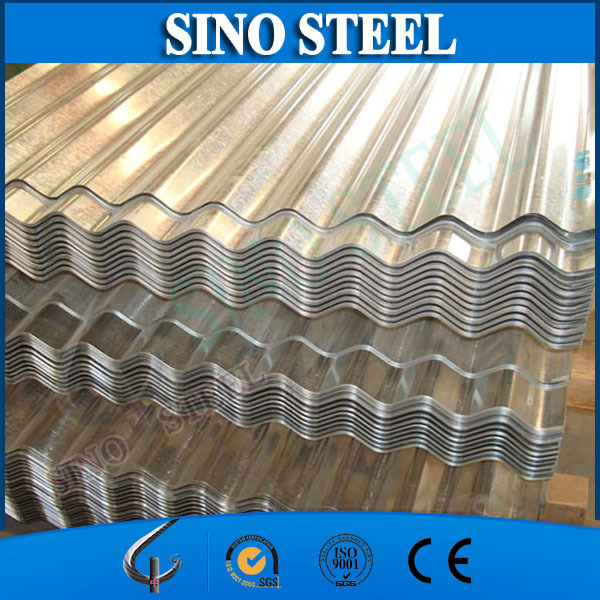 Galvanized steel corrugated sheet for Roofing shingles GI sheet
