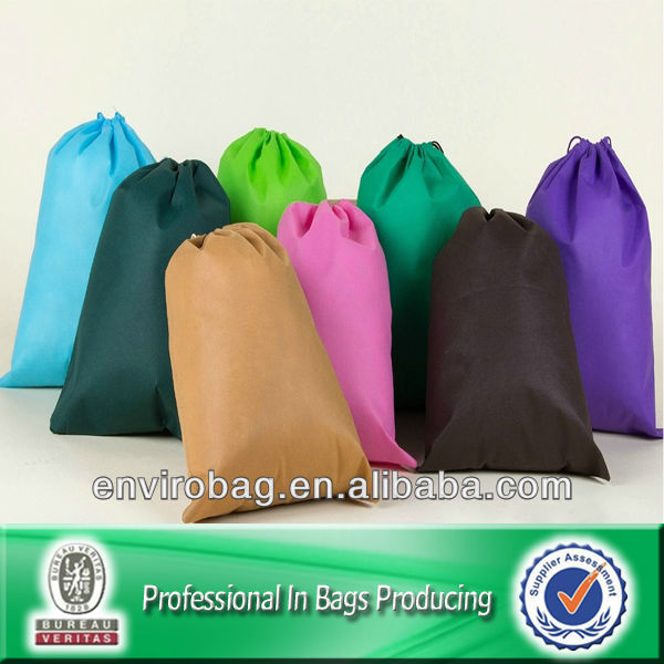 100% Recycled Drawstring Pouches And Bags