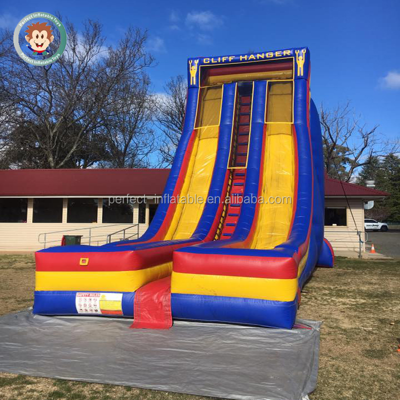 Customized size for event adult inflatable water slide giant inflatable slide