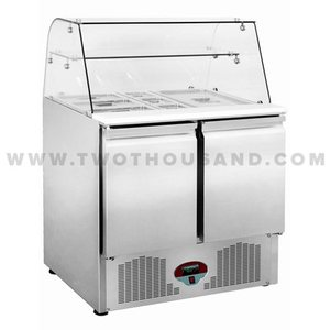 TT-SL900DR2K-GL Sale Best Restaurant Refrigerated Salad Bar Prep Table