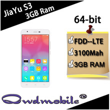Jiayu S3 mobile phone with 3GB RAM 16GB ROM Octa core Mtk6752 mobile phone