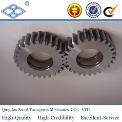 Power Transmission small Spur Gear MSGB1.5- 100standard JIS material SBCM415 overall carburizing m1.5 small spur gears