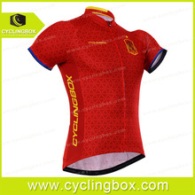 2016 Custom sublimation blank sublimation comfortable cheap china cycling clothing