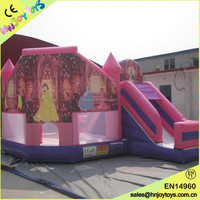 Amazing top sale princess bouncy castle,party bouncy castle for sale