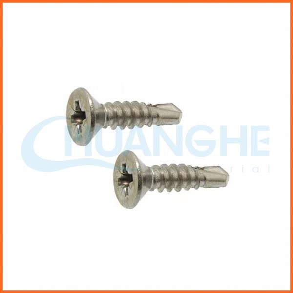 China high quality self drilling screw with washer attached
