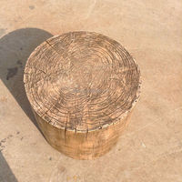 Home and outdoor garden table wedding christmas decoration 10cm to 500cm Height artificial with bark Tree Stumps E06 0118