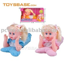 Funny singing & walking baby doll electronic dolls