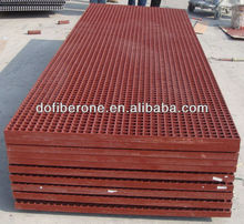 ASTM E-84 test passed ABS certificated molded and pultruded fiberglass grating