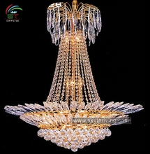 crystal chandelier golden crystal pendant lamp