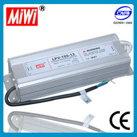 LPV-100 waterproof mode power supply ac to dc drive 100w 12v