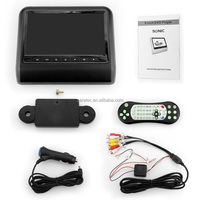 7/9 inch Headrest DVD Players monitor Support CD/VCD/MP3/WMA/DIVS/MPEG4