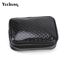 Makeup Train Case 2 layer Professional Travel Cosmetic Bag Organizer Portable Storage Bag