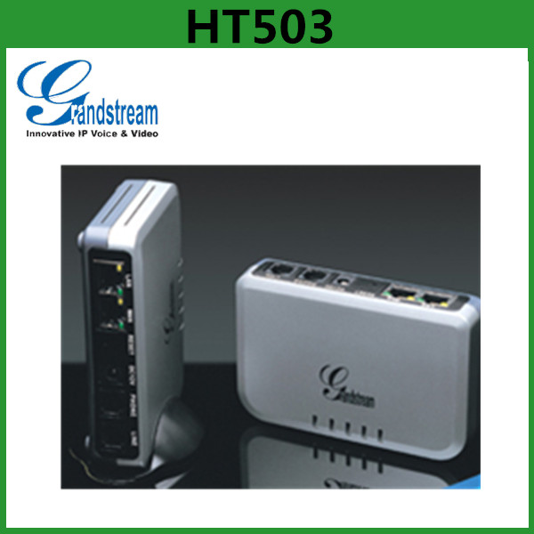 Grandstream HT503 1 FXS/FXO VOIP Phone Adapter/Gateway/ATA With 2 RJ45 LAN/WAN Port