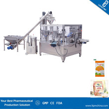 Good quality lowcost multifunction rotary pre pouch counting flatbag full automatic Starch fine Powder sealing packing machine
