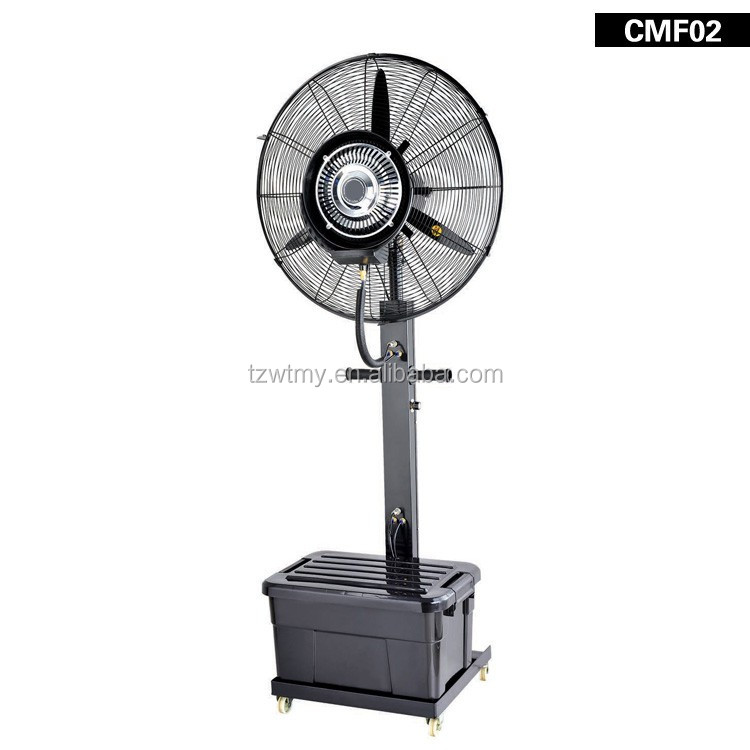 2016 hot sale 30'' standing mist fan water fan with CE/GS/PSE/SAA