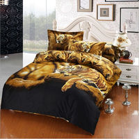 2015 hot new product luxury 3d bed cover set/sheet set/home textile