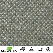 2017 New wall decoration Material of paper weave sound-absorbing wallpaper for luxury hotel decoratiom