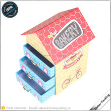 House Design Printing Baby Packaging Drawer Storage Packaging Box