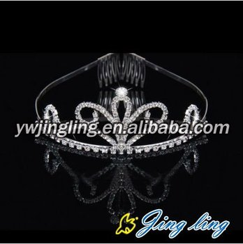 beauty hair accessory wholesale crowns and tiaras