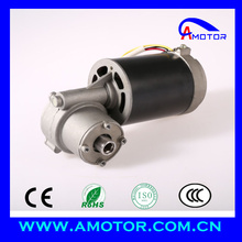 220V DC High Torque Worm Gear Motor For Door Opener Wheelchair Very Low Noise Micro Motor