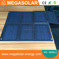 60w Folding Solar laptop Charger with waterproof accessory bag