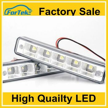 factory sale Euro Round DRL Lamp Fog Signal Light Driving Lamp led daytime running light drl with dimmer Emark approved