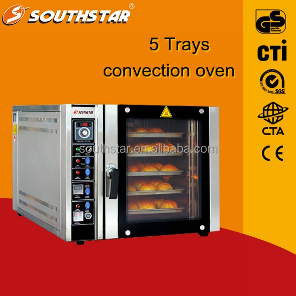 China supplier SOUTHSTAR 5 trays electric convection oven/halogen replacement bulb convection oven/as seen on tv turbo convectio