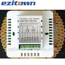 Ezitown DW-T907 digital hotel room temperature controller thermostat for FCU units