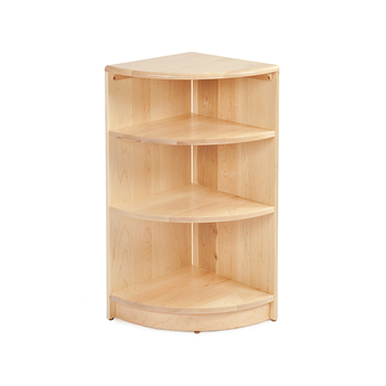 Design High Standard Home Furniture High Quality Shelf Kids Wooden Corner Shelf With Bottom Price