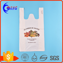 HDPE printed shopping t-shirts thank you plastic bags