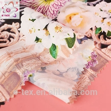 Fabric textile supplier new style Fashion Dress pearl chiffon fabric