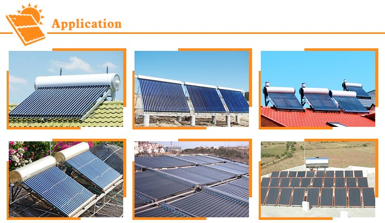 Widely used superior quality evacuated tube solar collector