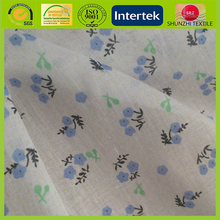 new Moisture wicking Coolplus 100% natural cotton fabric for babay cloth with floral print