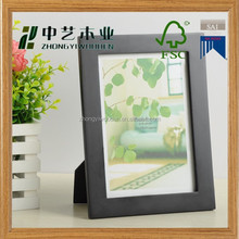 Hot selling factory supplier hanging FSC wooden photo picture frame,funny photo frame,beautiful photo frames