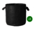 15 gallon Heavy Duty Thickened Nonwoven Fabric Pots Grow Bags with Strap Handles Black
